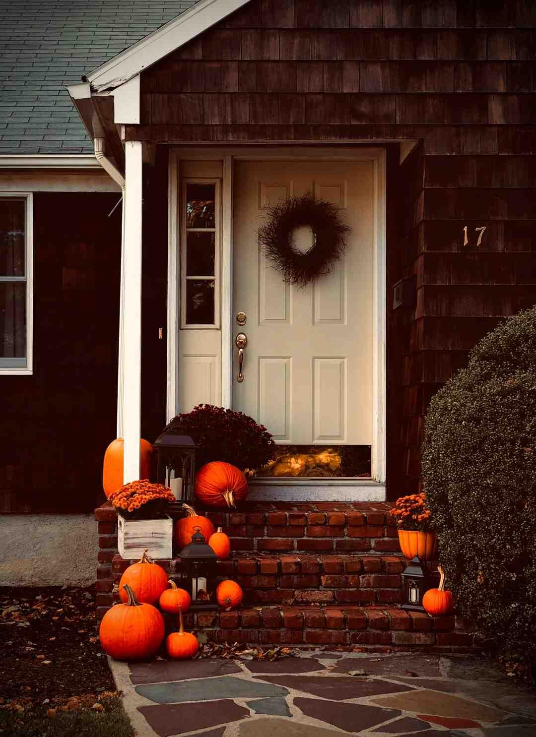 Quand mettre les décorations d'Halloween ?